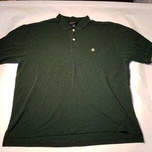 Brooks Brothers Green Polo Shirt XL